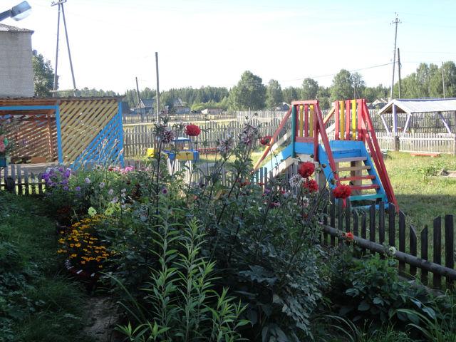 детский сад п. Кобра