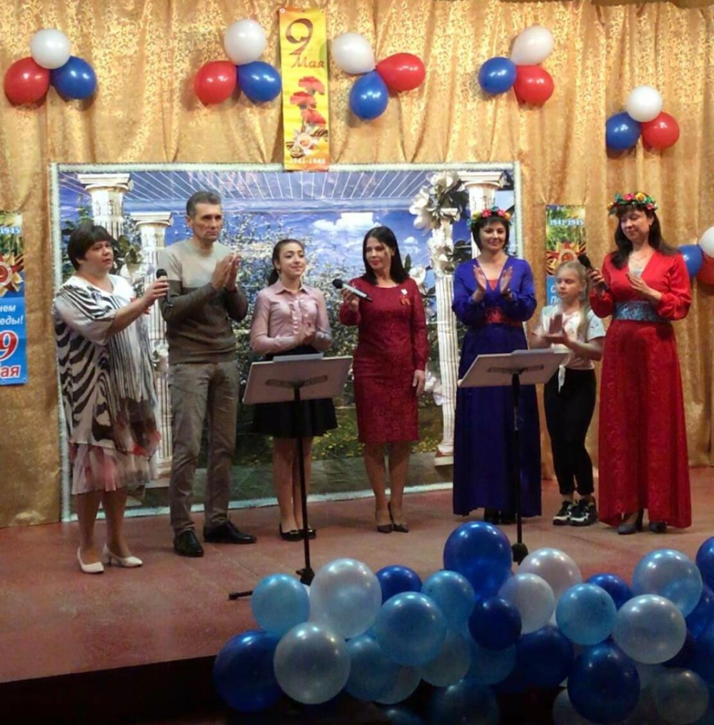 9 мая в Бирюченском СДК состоялся торжественный концерт, посвященный великому празднику – Дню Победы.
