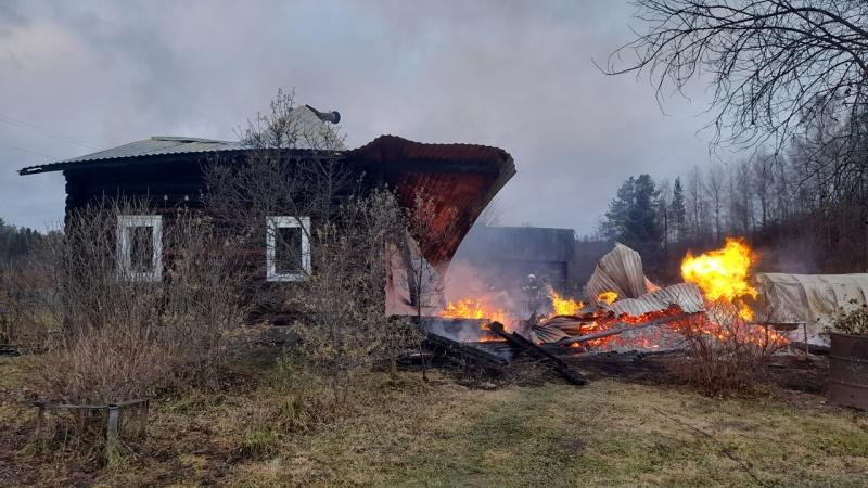 Обстановка с пожарами в Вологодской области