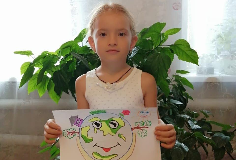Онлайн - выставка детских работ «Мой край: настоящее, прошлое, будущее».