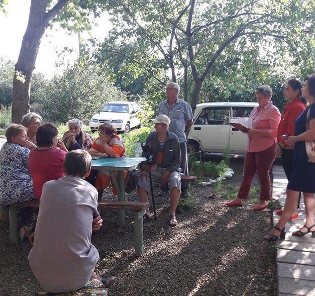 6 августа проведено собрание с собственниками многоквартирного дома в селе Кухаривка