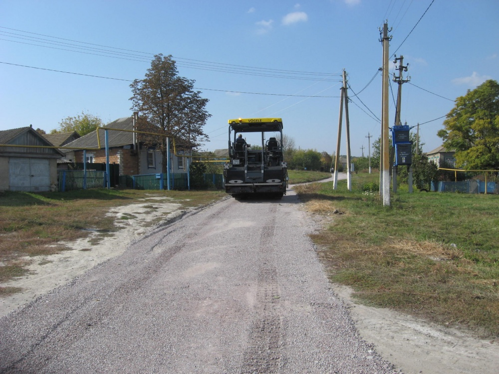 Закончены работы по ремонту дорог в Дерезовском сельском поселении отремонтировано около 4 км дорог