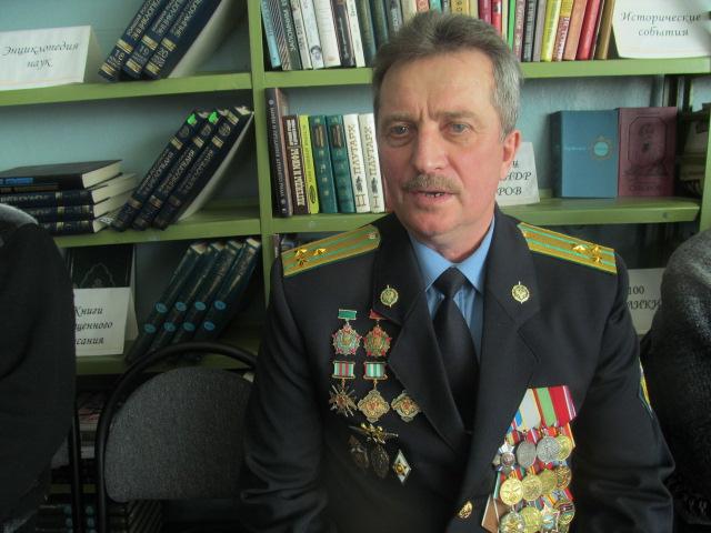 Полковник запаса Рыгин С.И.