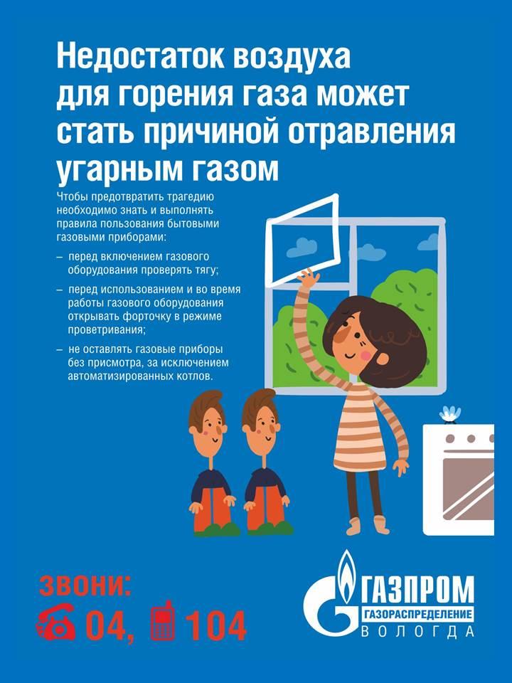 Безопасность газа в быту