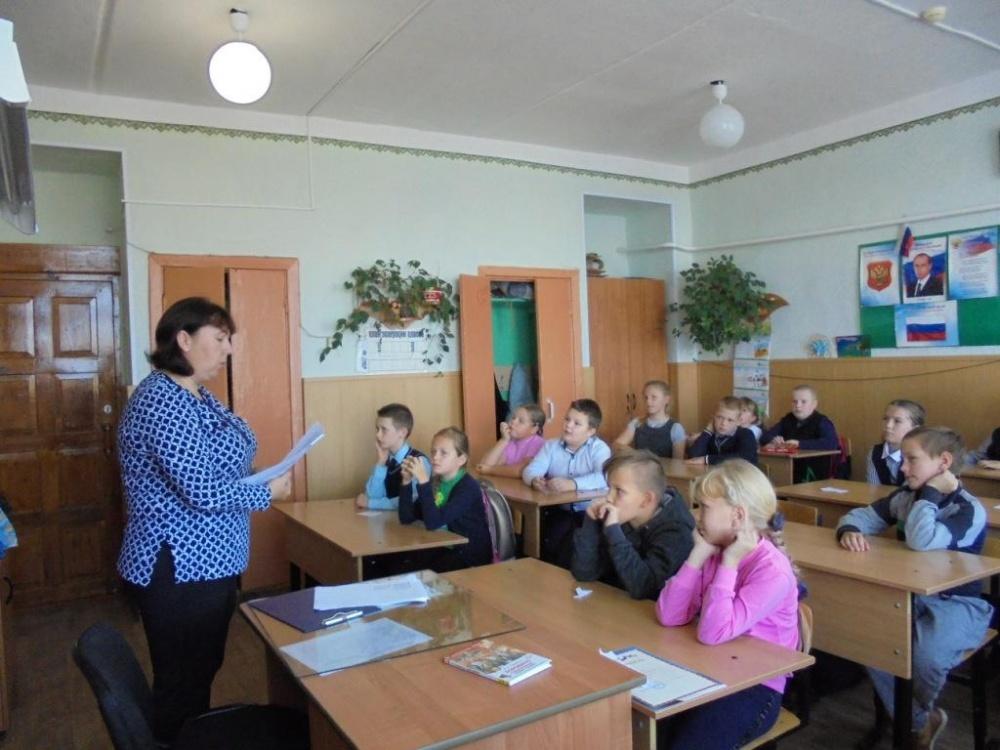 Провели мероприятие, посвященное 205-летию со дня рождения М. Ю. Лермонтова