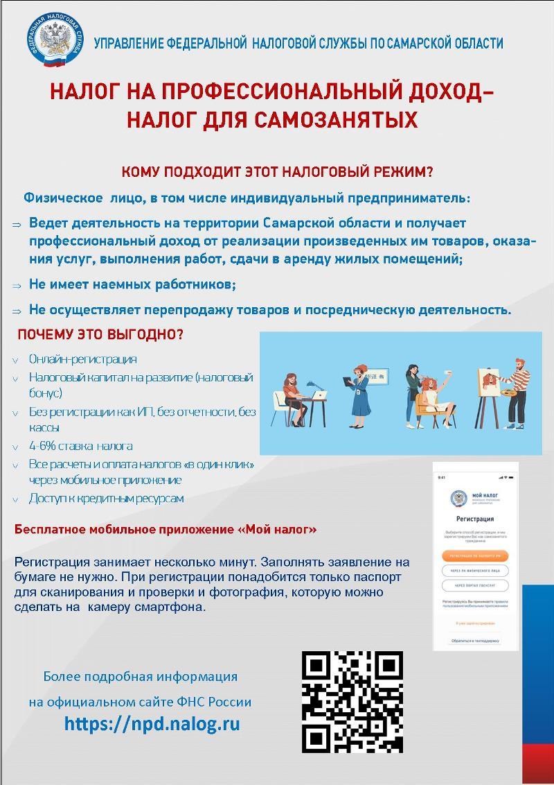 Как зарегистрироваться в качестве плательщика налога на профессиональный доход?
