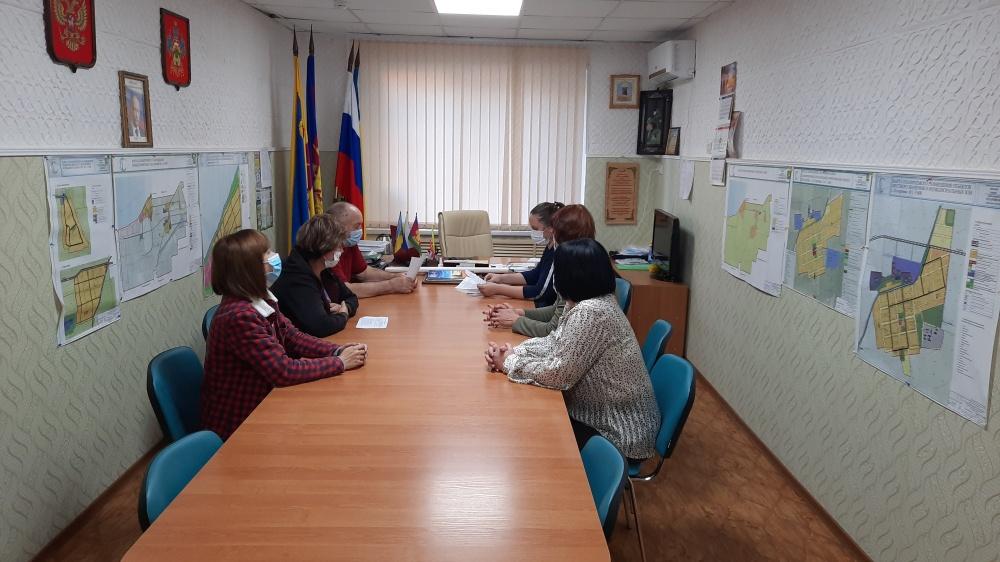 15 октября прошло заседание территориальной комиссии по профилактики правонарушений