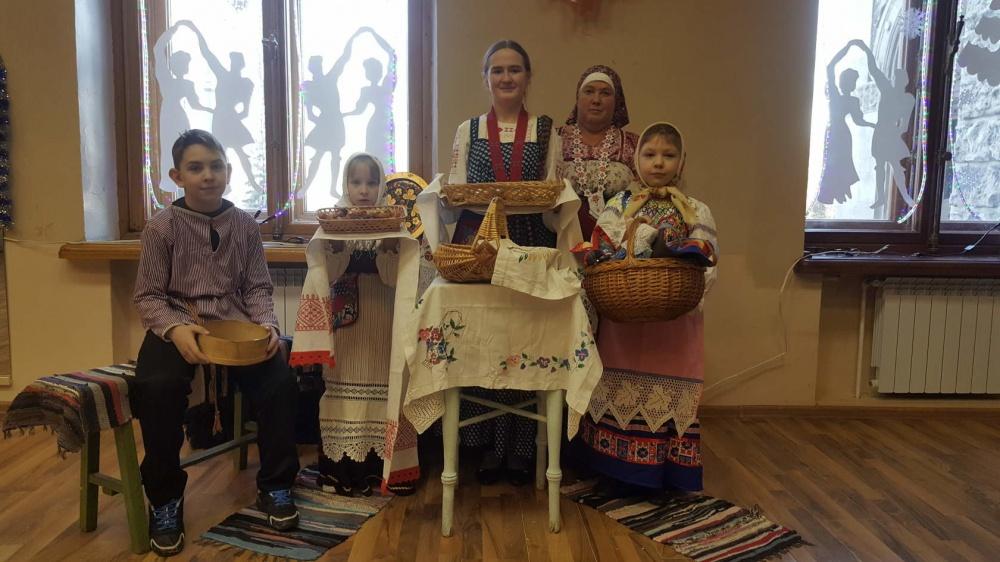 Новый Год в деревне Берестечко