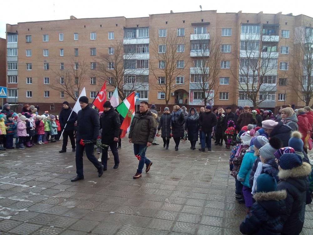 17 января 2020 года в поселке Товарково прошёл торжественный митинг посвященный 78-й годовщине освобождения Дзержинского района от фашистских захватчиков