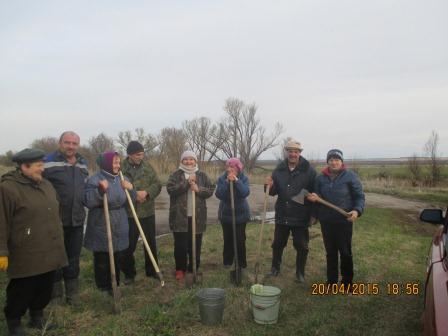 Аллея Победы в селе Новая Осиновка