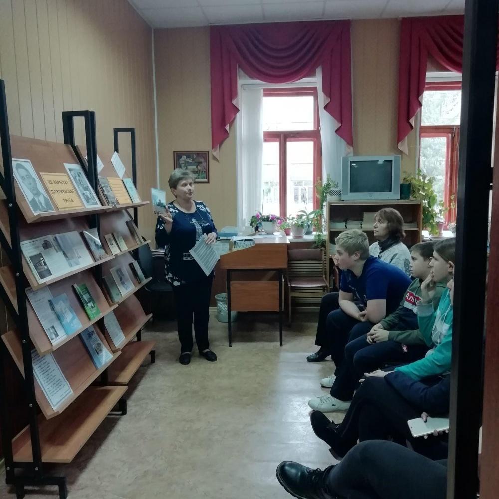 9 ноября стал для учащихся Давыдовской школы первым днём во «взрослой» библиотеке.