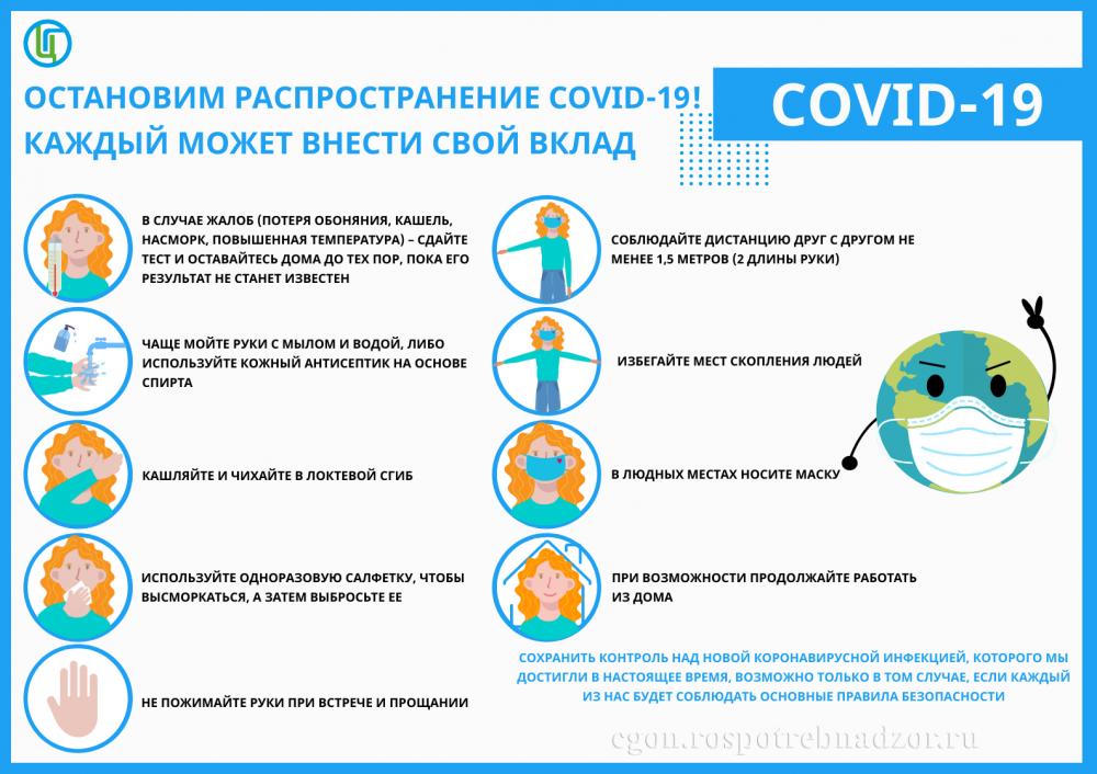 О минимизации рисков распространения коронавируса в офисах
