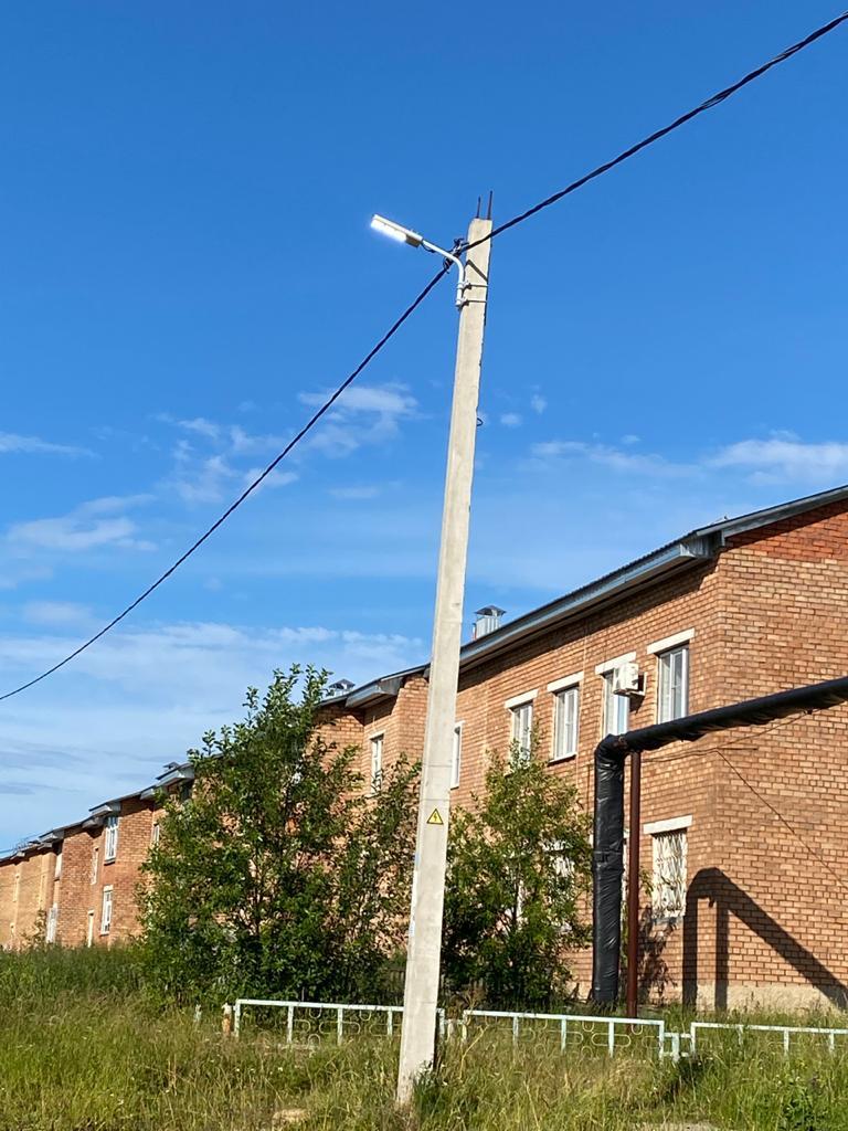 На улицах нашего поселка станет светлее