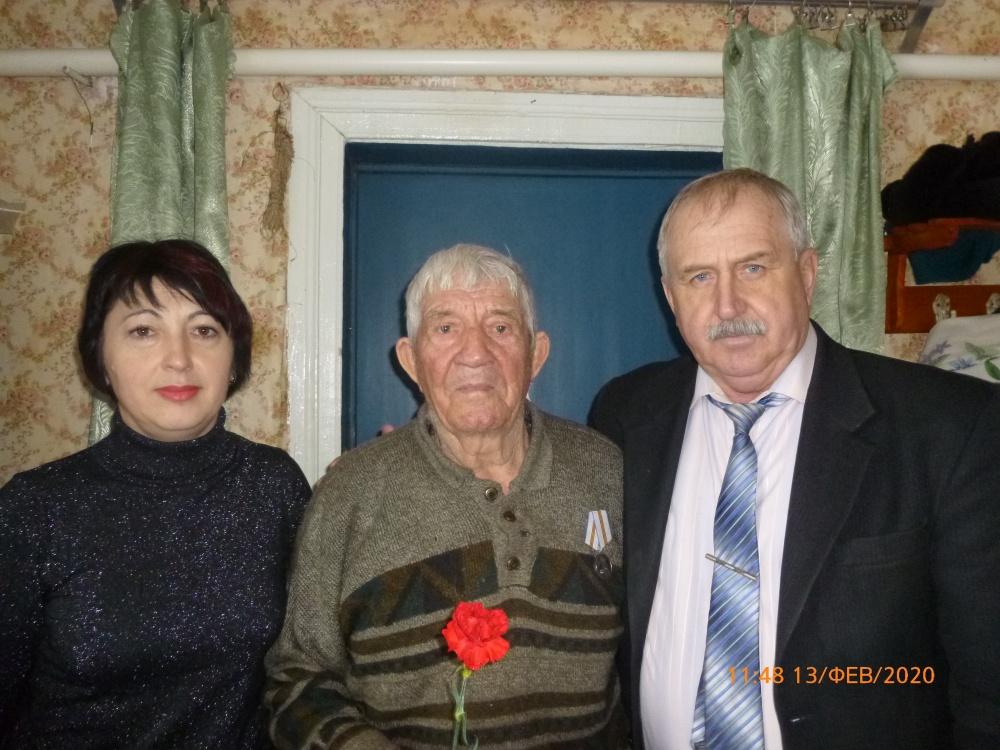 Вручение медалей к 75-летию ВОВ