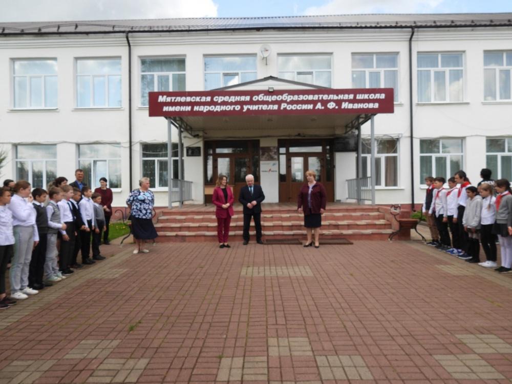 Уполномоченный по правам ребенка в Калужской области Ольга Коробова призвала мятлевцев активно голосовать за объекты комфортной городской среды