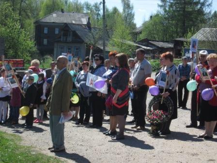 Митинг с. Матвеево 09.05.2016 г.