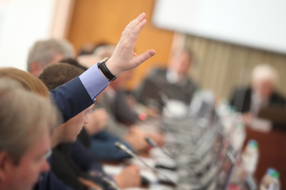 Заседание Собрания депутатов муниципального образования Новольвовское Кимовского района