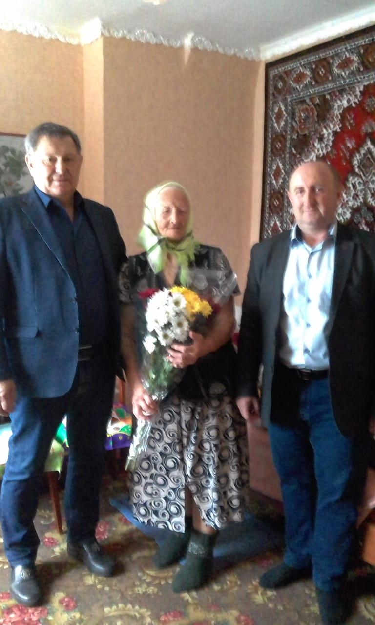 Поздравление Сидоренко Елены Алексеевны-труженицы тыла с Днем рождения