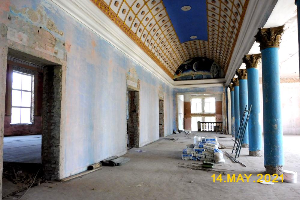 Ремонт Дома культуры - 14 мая 2021 года