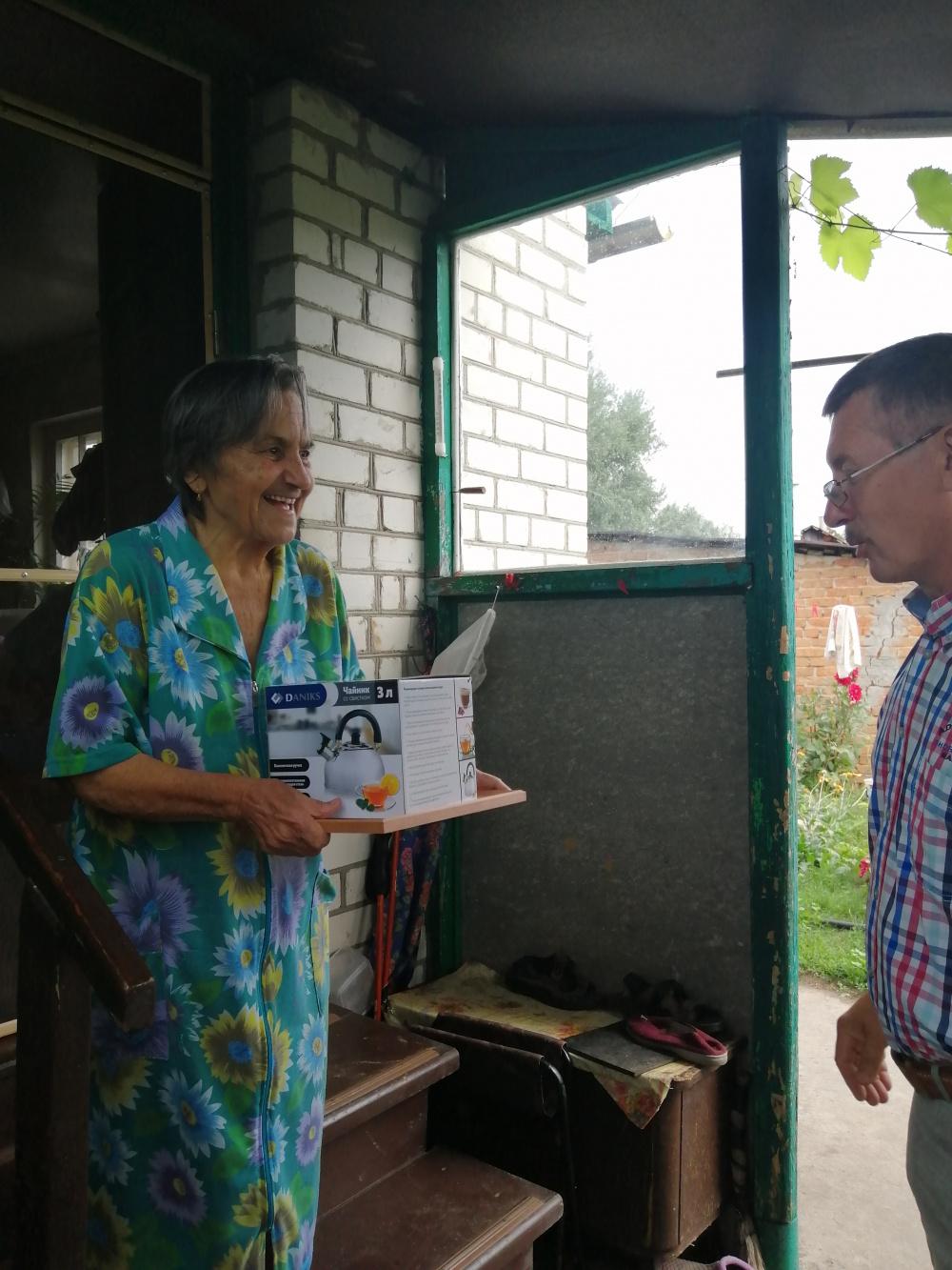 Сомова Полина Петровна 30 июля отмечает  80-летие!