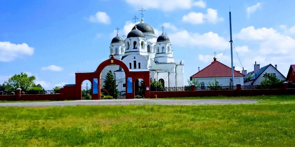 Празднование 250-летия села Масловка