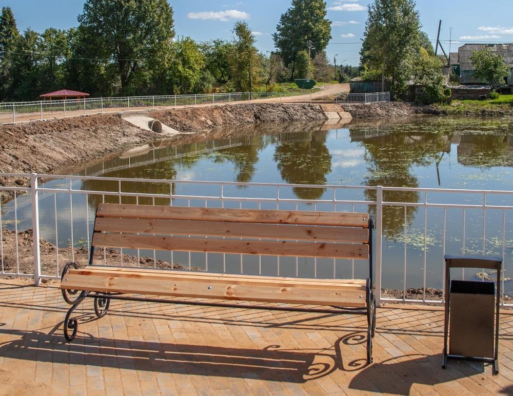 В поселке Мятлево преобразился заброшенный пруд