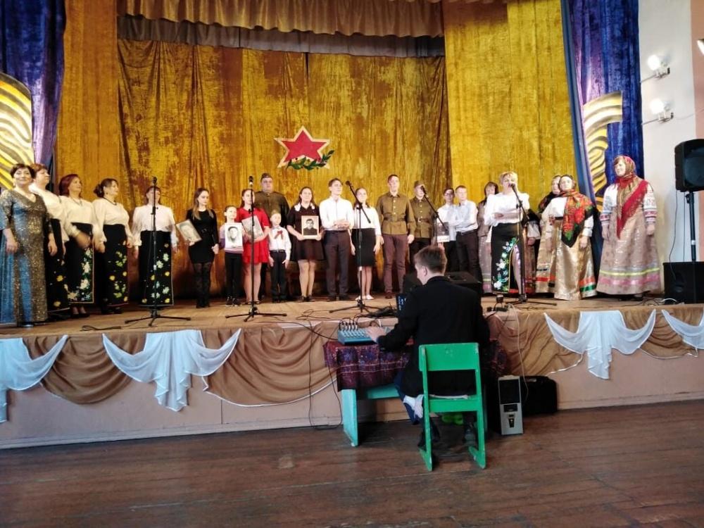 Отчетный концерт  ЦК Нижнемамонского 1-го сельского поселения