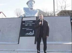 В Братках реконструировали памятник земляку-революционеру