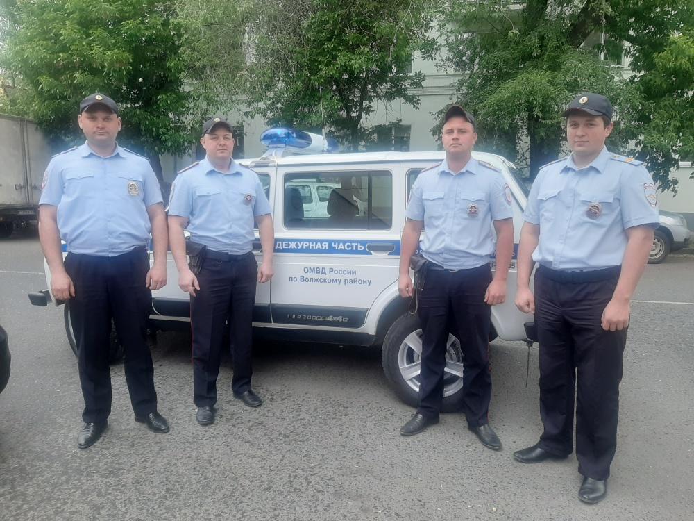 Житель города Самары выразил благодарность правоохранителям Волжского района за оперативность и отличное выполнение своих служебных обязанностей.