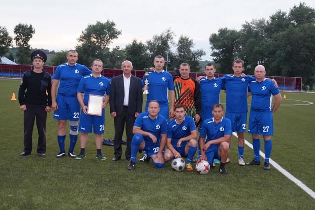 Провели соревнования по футболу на Кубок Н. М. Прихоженко