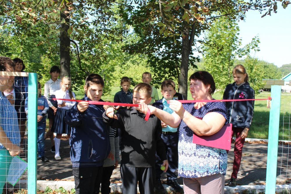 Открытие детской спортивно-игровой площадки в с.Филоново
