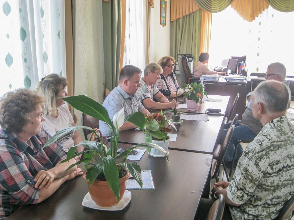 Депутаты заслушали отчет главы сельского поселения о проделанной работе в 2019 году