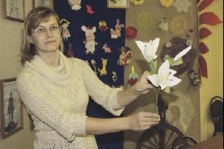 Сотрудники Дома детского творчества провели  конкурс поделок и мастер-класс