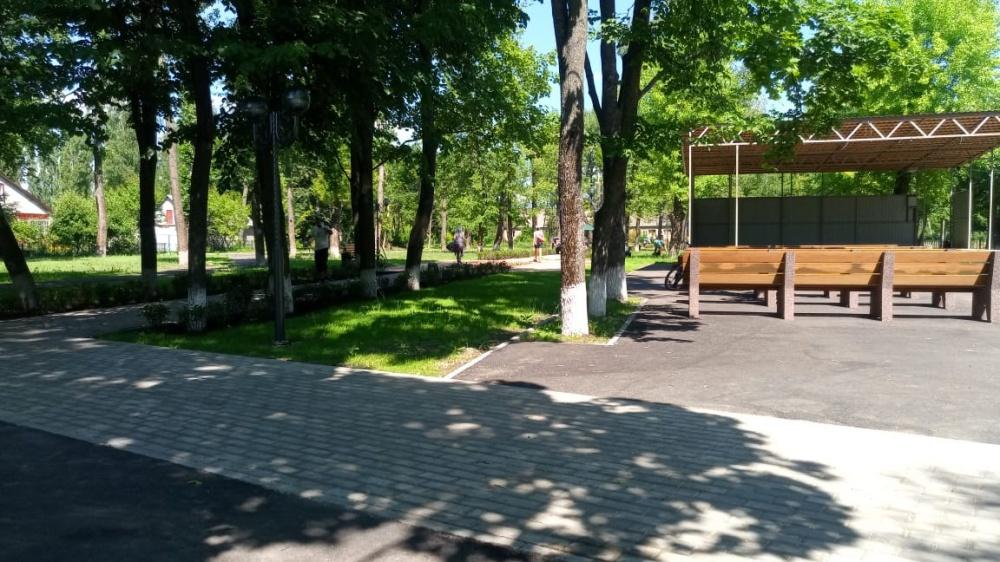 """Внимание всем жителям Бабяковского сельского поселения! Сегодня, 11 июня, торжественное открытие парка """"Молодежный""""!"""