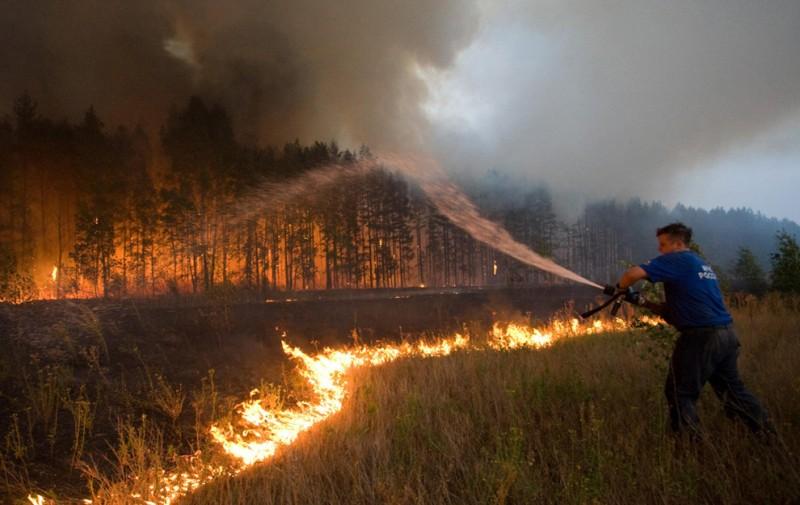 Заметка о сжигании мусора и сухой травы