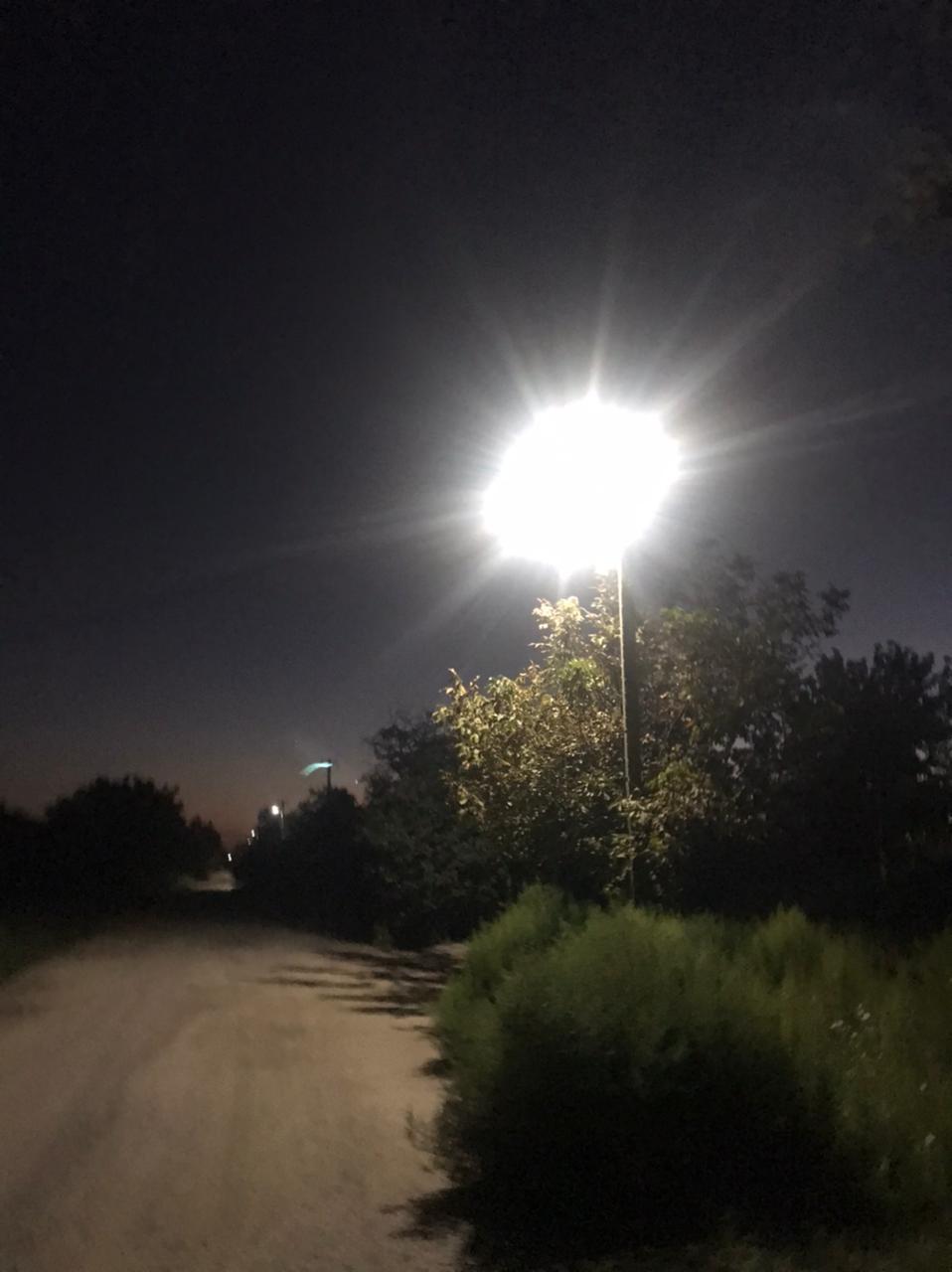 В сельском поселении стало светлее