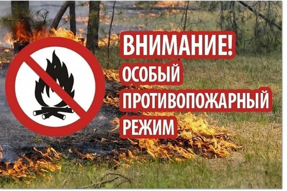 Информация по пожароопасному периоду