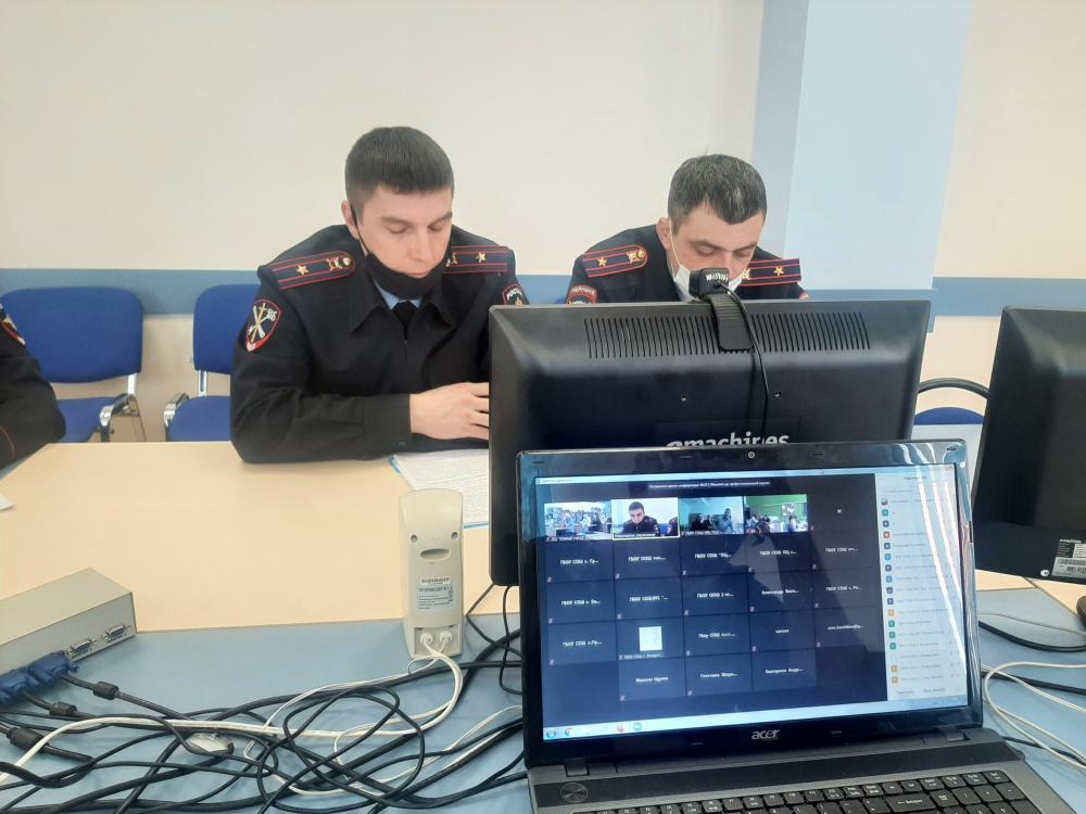 В Волжском районе прошло профилактические мероприятие с участием старшеклассников