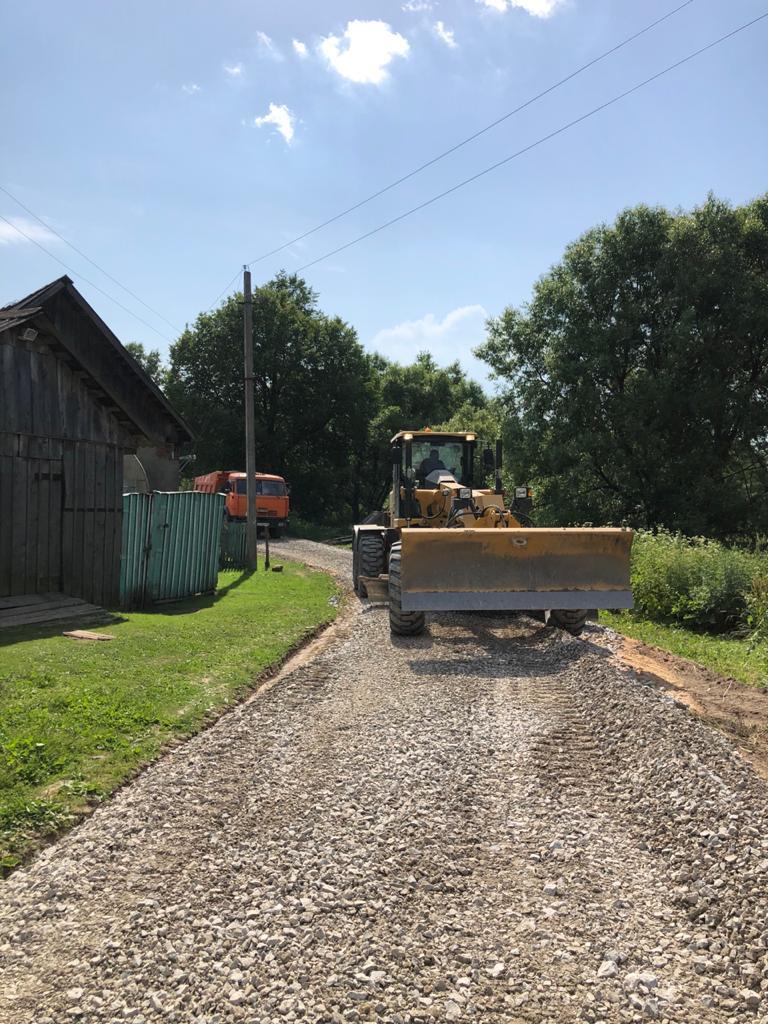 """В сельском поселении """"Село Заречный"""" был произведен ремонт дороги"""