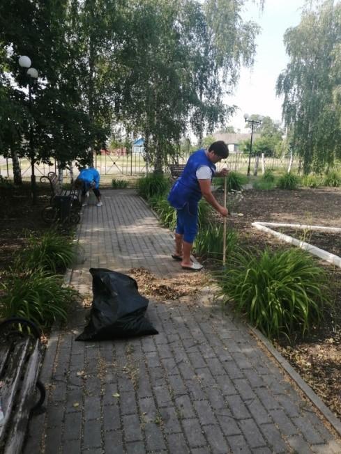 Экологический субботник «Чистый парк»