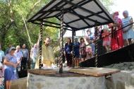13 сентября  2018 года в Медовском  сельском поселении состоялось торжественное и значимое событие – открытие и освещение родника с.Медово