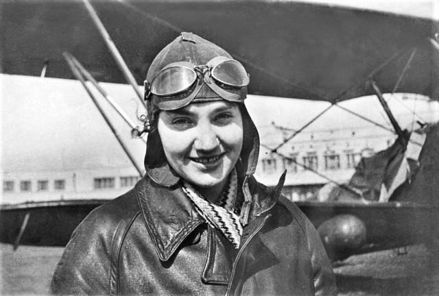 Валентина Степановна Гризодубова советская летчица, Герой Советского Союза