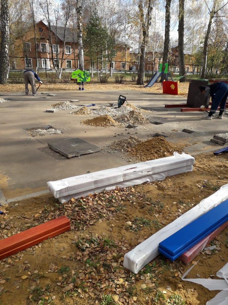 Новая площадка в п. Новольвовск