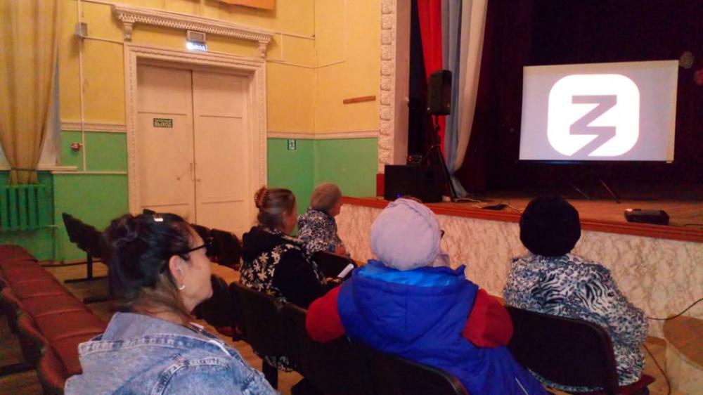 10 сентября инструктор по спорту Мельникова И. провела  в зале Старотишанского СДК  лекцию — «Спорт – норма жизни