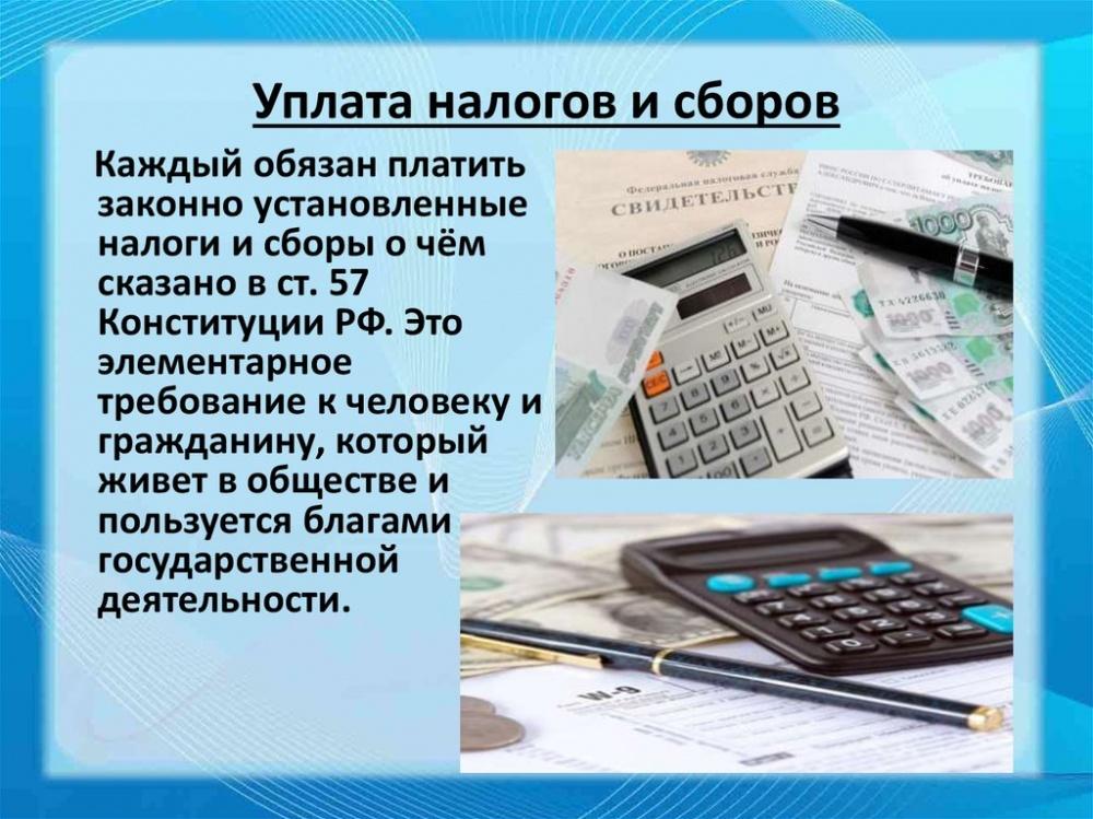 О способах платы налогов