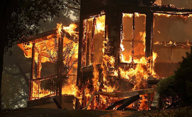 Последствия пожаров, связанных с несоблюдением требований пожарной безопасности