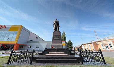 Великий памятник  Императору-Освободителю