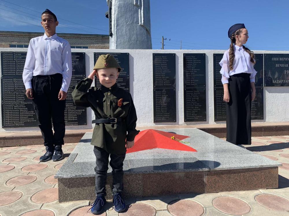 9 мая 2021 года в селе Алькино прошел митинг, посвященный 76-й годовщине Победы в Великой Отечественной войне