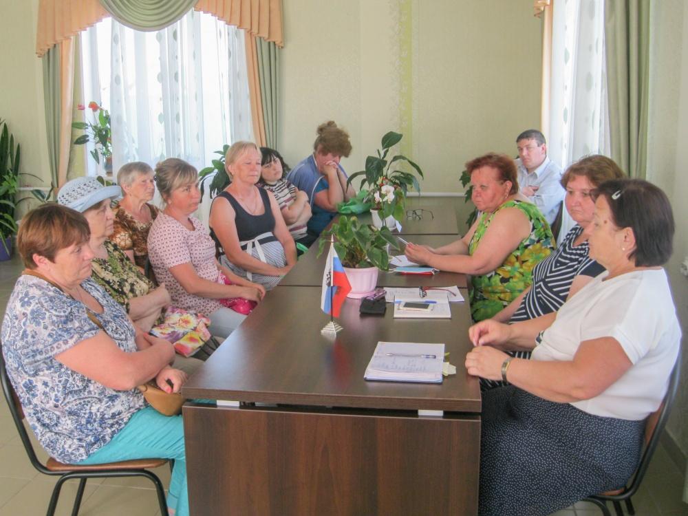 Местная власть и старосты обсудили актуальные вопросы