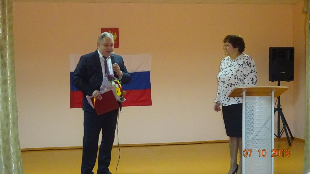 Торжественная церемония вступления в должность Главы поселения Т. В. Калачевой